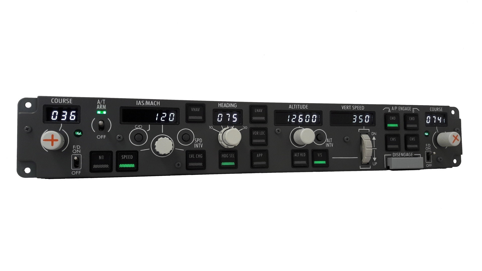 flight switch panel treiber
